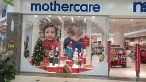 Mothercare shop front.