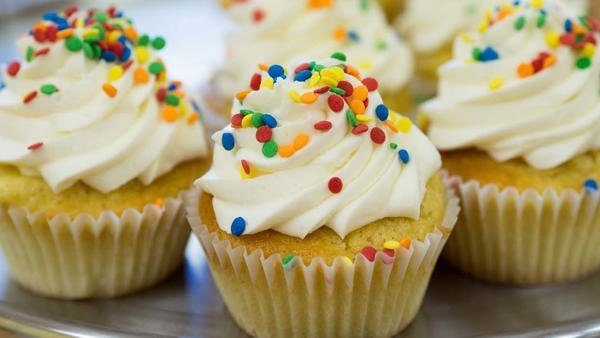 Picture of cupcakes.